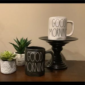 2 New Rae Dunn GOOD MORNING Mugs ☀️
